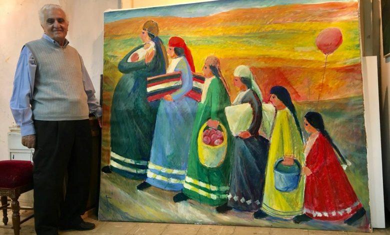التشكيلي السوري ممدوح قشلان بحثا عن اللون تثبيتا للجمال