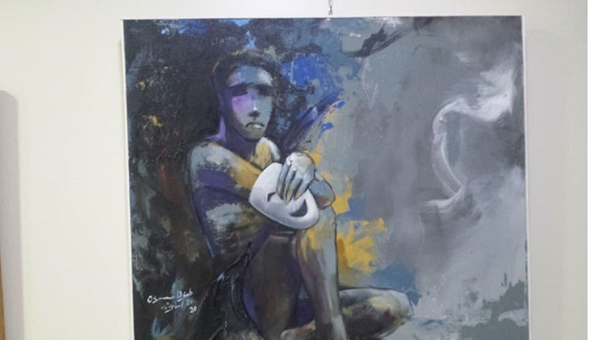 """""""Sharp Angle"""" exhibition depicts the tragedy of war"""